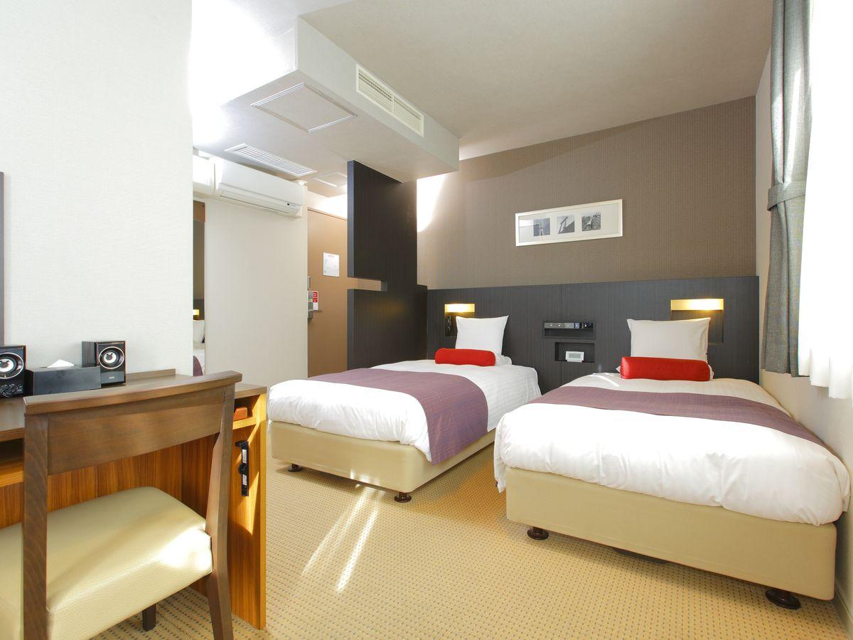 ホテルマイステイズ西新宿 / 【禁煙】デラックスツイン≪19㎡/シングルベッド2台≫
