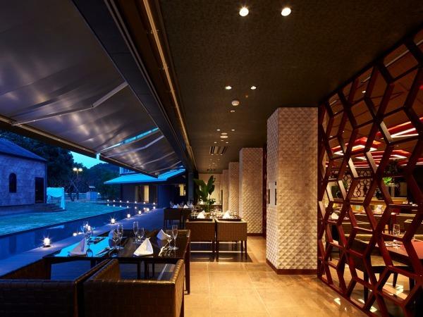 九十九島ベイサイドホテル&リゾート フラッグス / ◆2食付◆<スタンダード洋食コース>オープンテラスのレストラン『THE ONE』~地中海料理「サンセット」