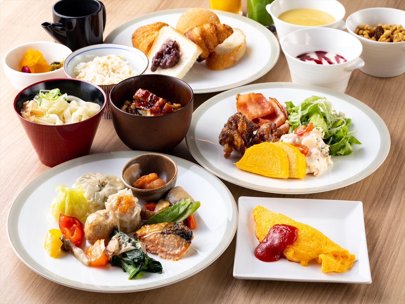 西鉄ホテルクルーム名古屋 / なごやめしの和洋ブッフェ朝食付きプラン