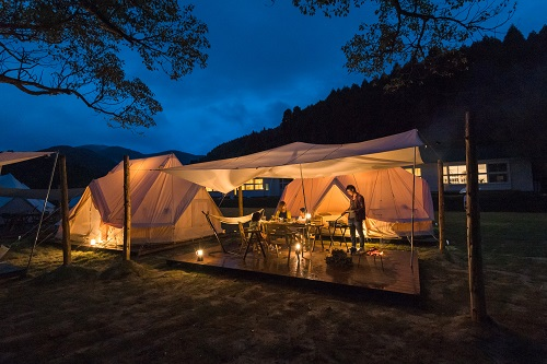 Nordisk Village Goto Islands / スタンダードプラン Tent with Dog (朝食付き)
