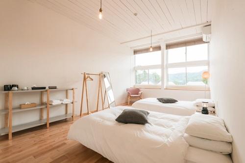Nordisk Village Goto Islands / スクールハウス (校舎内/ツインベッドルーム)【禁煙】