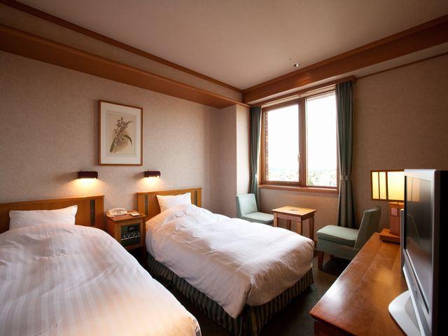 森のスパリゾート北海道ホテル スタンダードツイン【禁煙】/日高ウイング