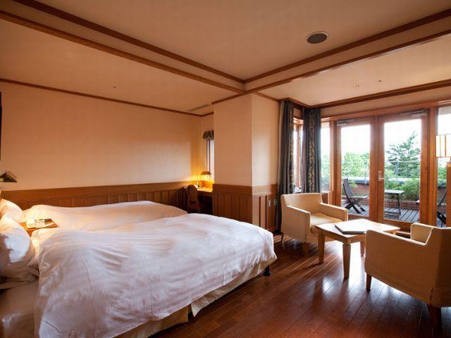 森のスパリゾート北海道ホテル デラックスツイン【禁煙】/日高ウイング
