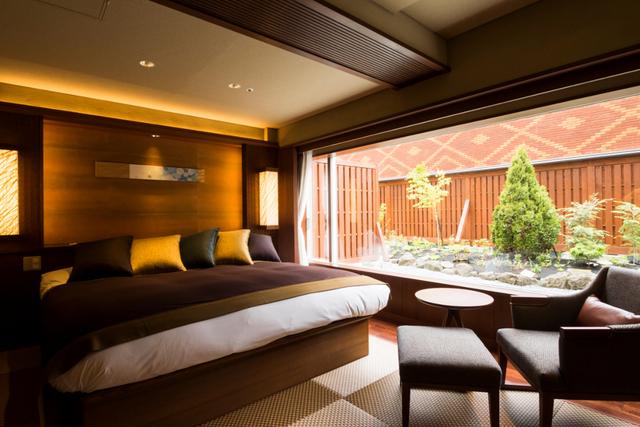森のスパリゾート北海道ホテル モダン・ダブル(庭園付)【禁煙】/ガーデンウイング