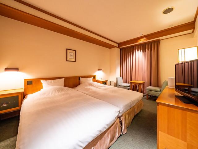 森のスパリゾート北海道ホテル ハリウッドツイン【禁煙】/日高ウイング