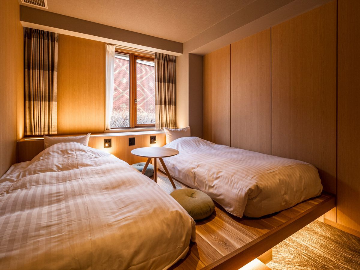 森のスパリゾート北海道ホテル ノルディックツイン【禁煙】/日高ウイング