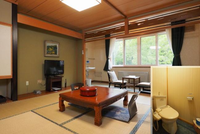 芽登温泉ホテル / Aタイプ 本館和室10畳 トイレ付