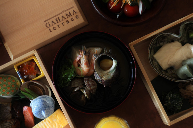 GAHAMA terrace / THE GAHAMA STAY -Bistro Vent nouveau-
