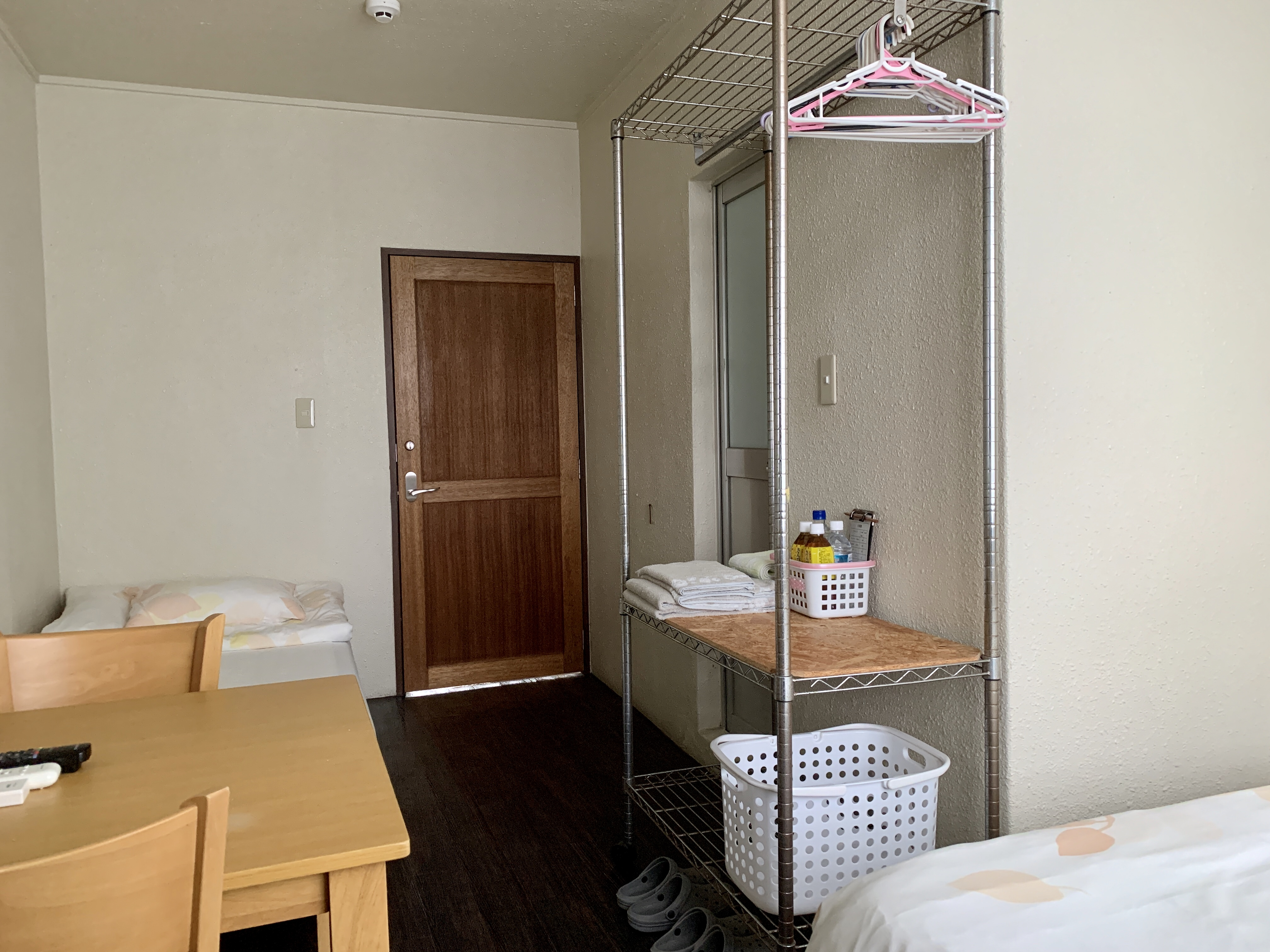 ゲストハウス マリンノート / 遠くに海が見える部屋素泊まりプラン