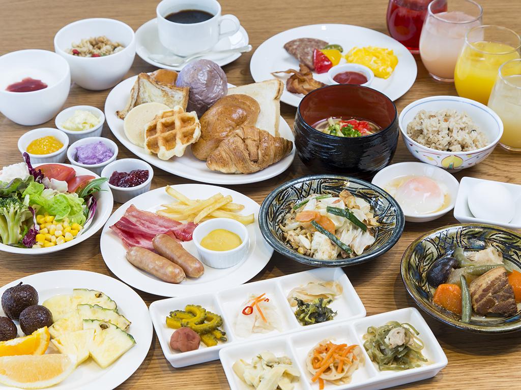 沖縄ナハナ・ホテル&スパ / 【60日前の予約】室数限定! 60日前早割プラン(朝食ブッフェ付)