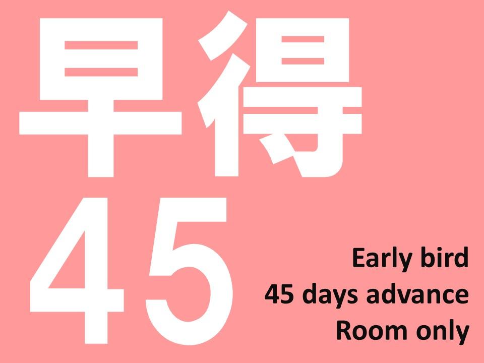 リッチモンドホテル那覇久茂地 / 【早得45】45日までの予約でお得!