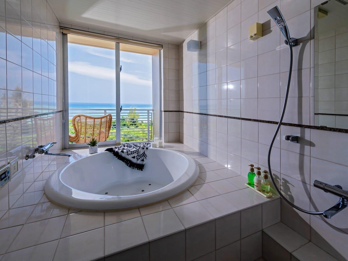 オディシス恩納リゾートホテル / オーシャンビュー ツインルーム