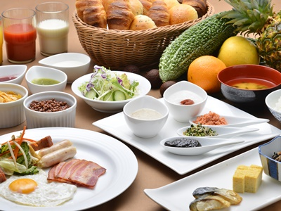 パシフィックホテル沖縄 / 当日までのお楽しみ♪お部屋タイプおまかせ!直前割プラン(朝食付き)