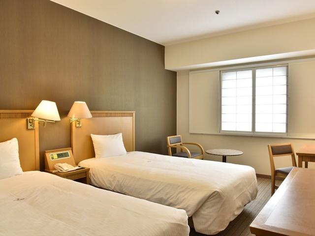 パシフィックホテル沖縄 コンフォートツインルーム21平米禁煙/バス・トイレ付