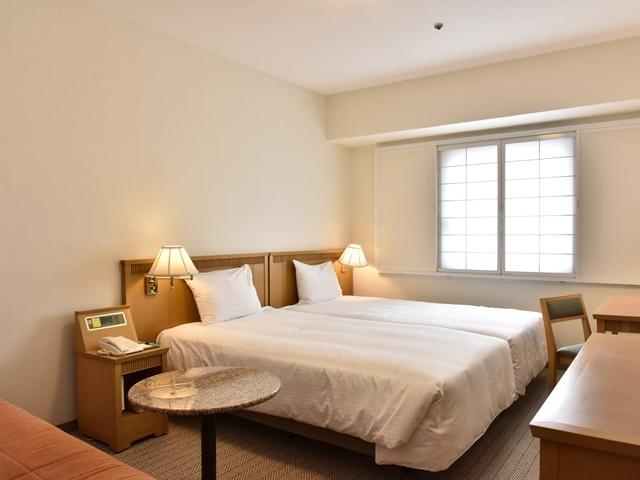 パシフィックホテル沖縄 コンフォートハリウッドツインルーム 21平米禁煙/バス・トイレ付