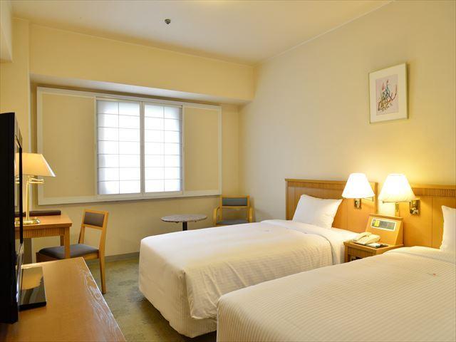 パシフィックホテル沖縄 スタンダードツインルーム 22.43平米禁煙/バス・トイレ付