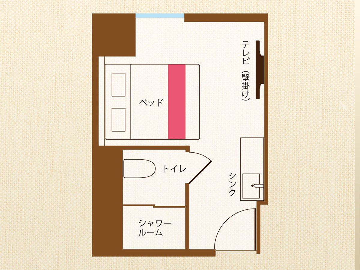 ホテル沖縄 with サンリオキャラクターズ ■おまかせルーム 【キャラクターダブル】広々18㎡■