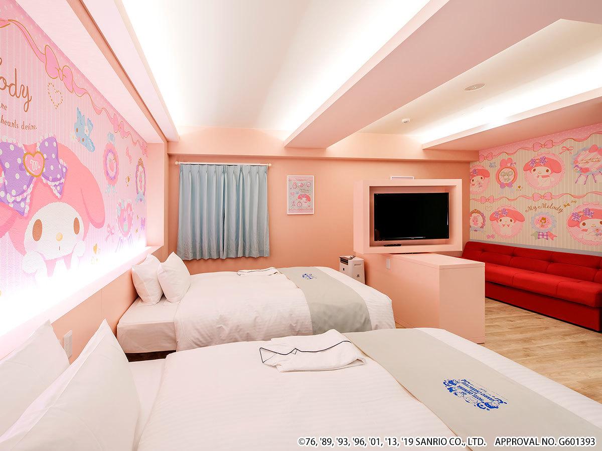 ホテル沖縄 with サンリオキャラクターズ ◆マイメロディ 【ジュニアスイート】ゆったり36㎡◆