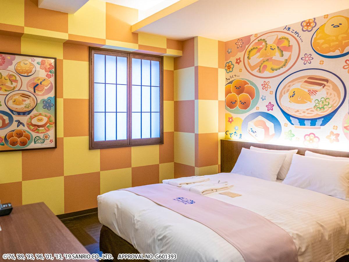 ホテル沖縄 with サンリオキャラクターズ ●ぐでたま 【キャラクターダブル】広々18㎡●