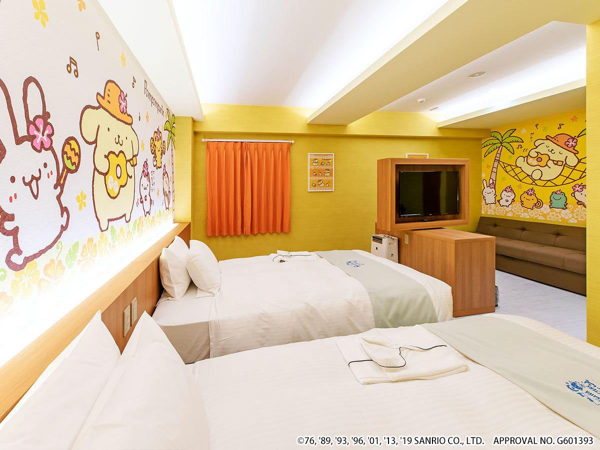 ホテル沖縄 with サンリオキャラクターズ ◆ポムポムプリン 【ジュニアスイート】ゆったり36㎡◆