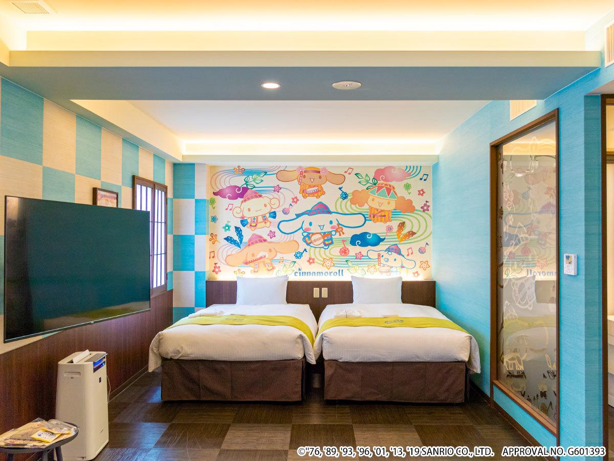 ホテル沖縄 with サンリオキャラクターズ ◆シナモロール 【ジュニアスイート】ゆったり36㎡◆