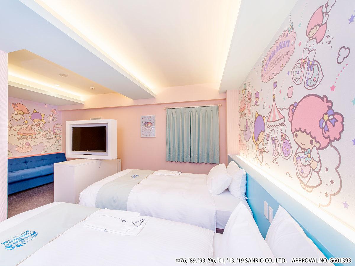 ホテル沖縄 with サンリオキャラクターズ ◆リトルツインスターズ【ジュニアスイート】ゆったり36㎡◆