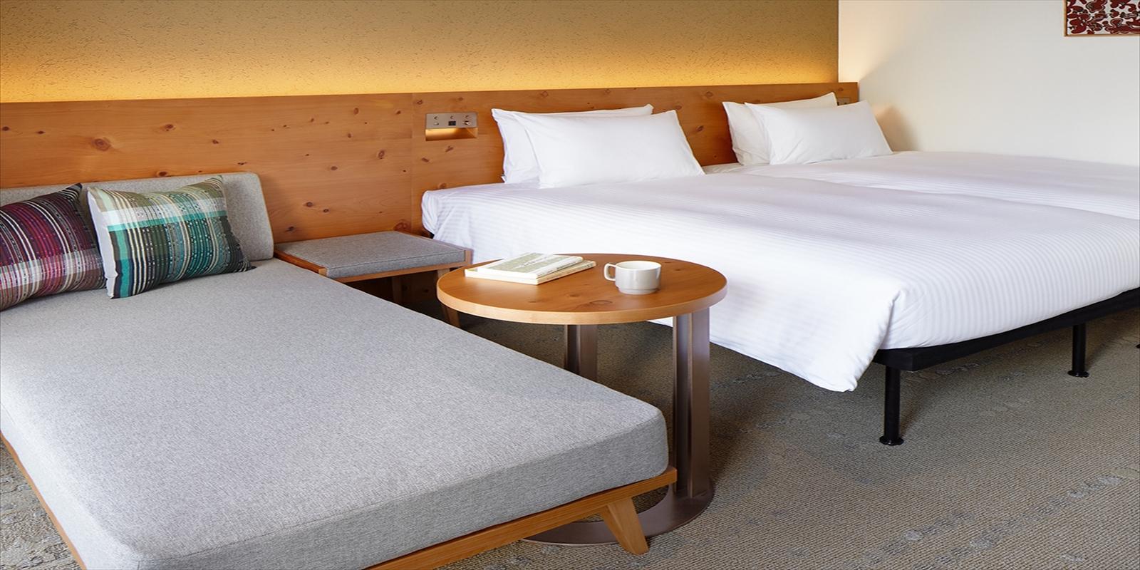 ホテル ストレータ那覇 / ツインルーム(高層階:3名利用)