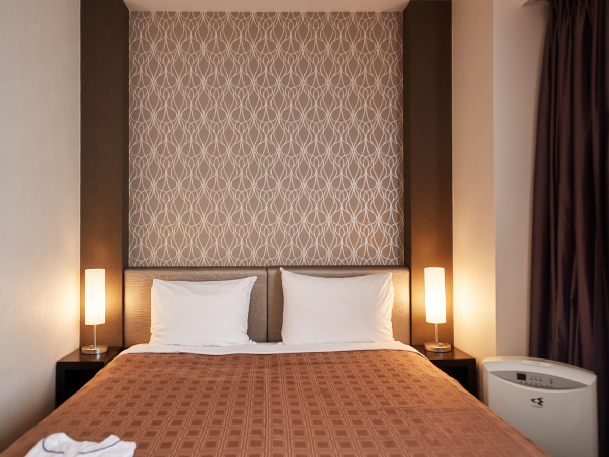 ホテルユクエスタ旭橋 【喫煙可】スタンダードシングル(15.5平米)ベッド幅160