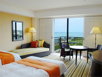ホテル日航アリビラ ヨミタンリゾート沖縄 スーペリアツイン