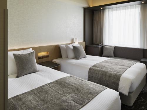 ホテルJALシティ札幌 中島公園 / 【隣部屋を確約】モデレートツイン×2部屋/21平米・禁煙