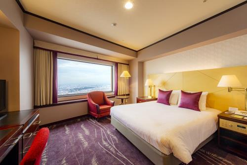 オークラアクトシティホテル浜松 【禁煙】アッパープレミアムコンフォート<br>ダブルルーム43階~44階 (27㎡)
