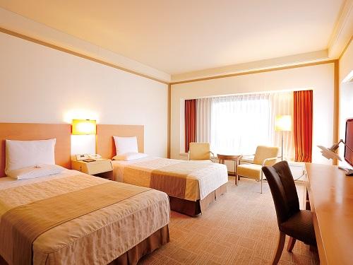 ホテルオークラ札幌 【喫煙】スイートルーム 73㎡ (ツイン・ベッド幅110cm)