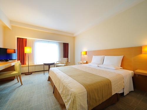 ホテルオークラ札幌 / 【禁煙】スタンダードダブル28㎡ ベッド幅182cm