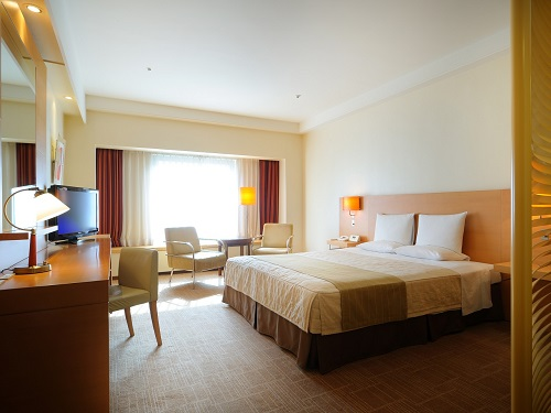 ホテルオークラ札幌 / 【禁煙】スペーシャスダブル35㎡ ベッド幅182cm