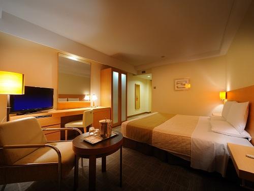 ホテルオークラ札幌 / 【禁煙】エグゼクティブダブル28㎡ ベッド幅182㎝