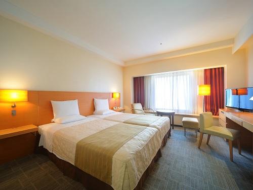 ホテルオークラ札幌 / 【禁煙】ハリウッドツイン(1室2名利用)28㎡天井2m62cm