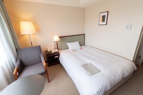 ホテルJALシティつくば / シングル(禁煙室) 広さ17.8㎡/ベッド幅140cm