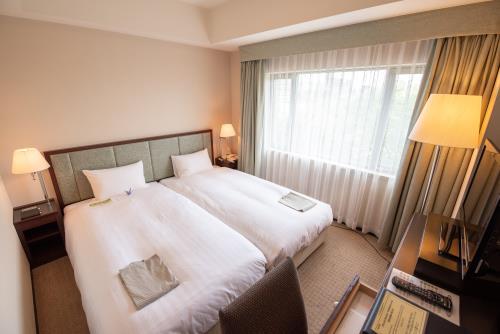 ホテルJALシティつくば / 【プチツイン】ハリウッドツイン(禁煙室) 広さ17.8㎡/ベッド幅100cm