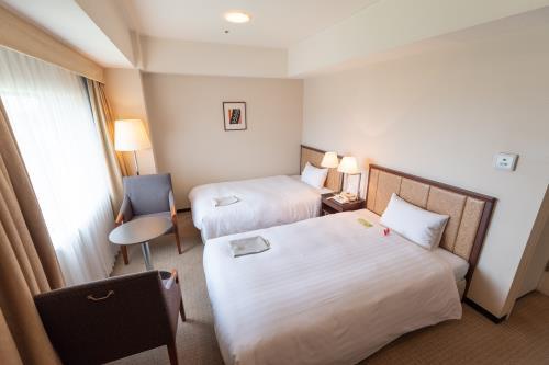 ホテルJALシティつくば / スタンダードツイン(禁煙室) 広さ27.0㎡/ベッド幅120cm