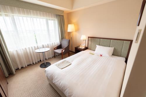 ホテルJALシティつくば / 【女性限定】レディースルーム シングル(禁煙室) 広さ17.8㎡/ベッド幅140cm