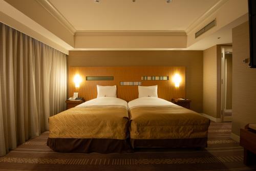 ホテルオークラ福岡 / デラックスツイン(ハリウッドツイン) 47平米 ◆禁煙◆