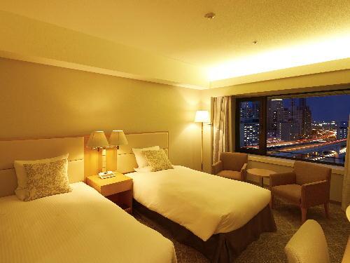 ホテルオークラ神戸 <喫煙>メインフロア スタンダードツイン6~15階(29平米)
