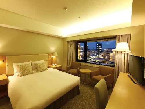 ホテルオークラ神戸 <喫煙>メインフロア スタンダードダブル6~15階(27平米)