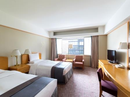 ホテルオークラ東京 / 【別館】スタンダードツインルーム