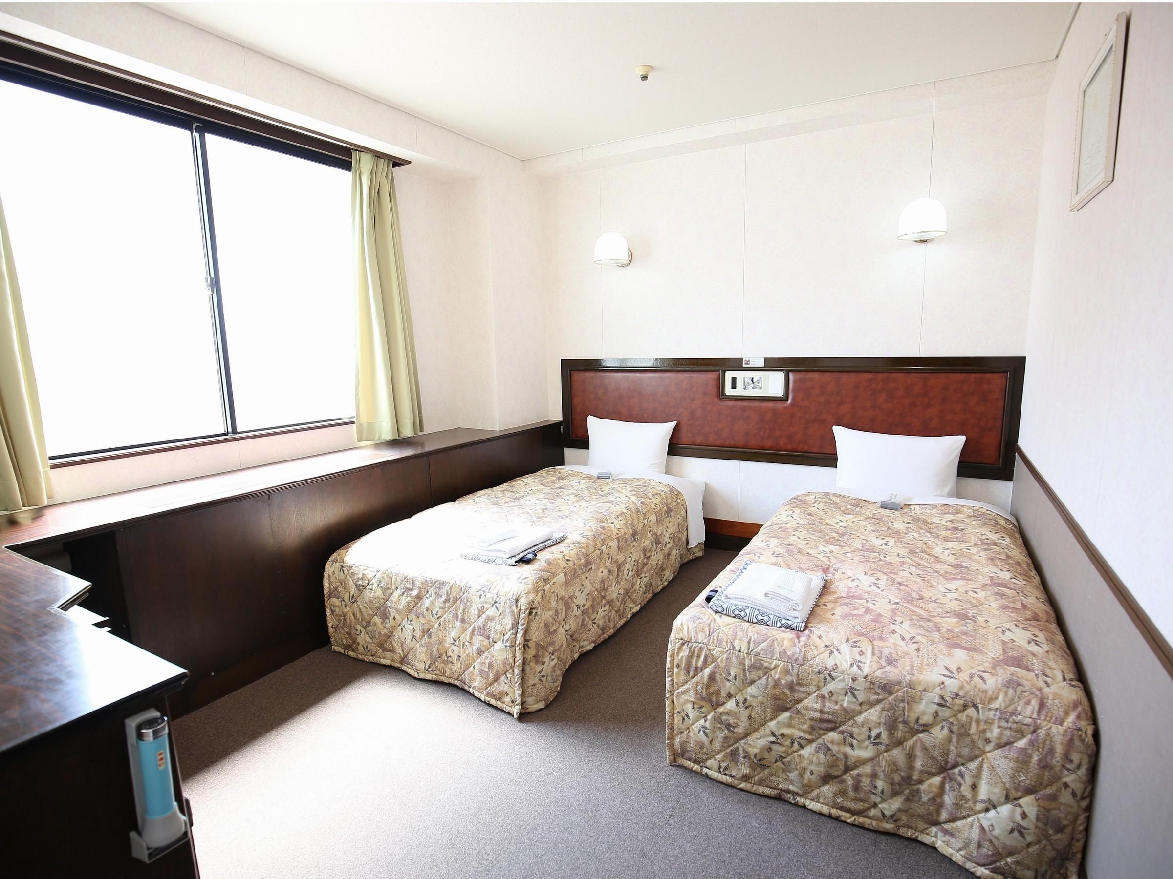 ホテル姫路プラザ / [喫煙室]ツインルーム(2名部屋)■広さ16平米