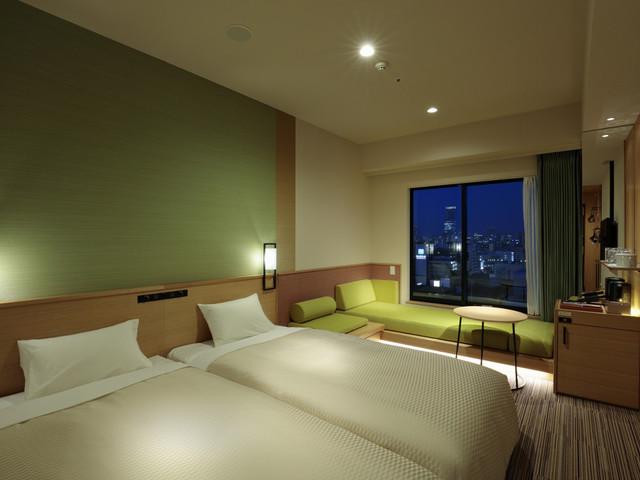 カンデオホテルズ大阪なんば / エグゼクティブソファツイン スーパーシティビュー