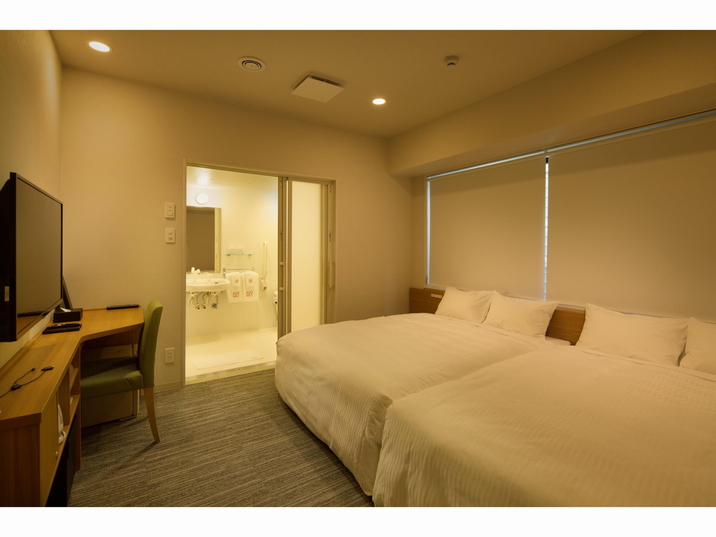 ホテルグラッドワン京都七条 / バリアフリールーム【禁煙】1階