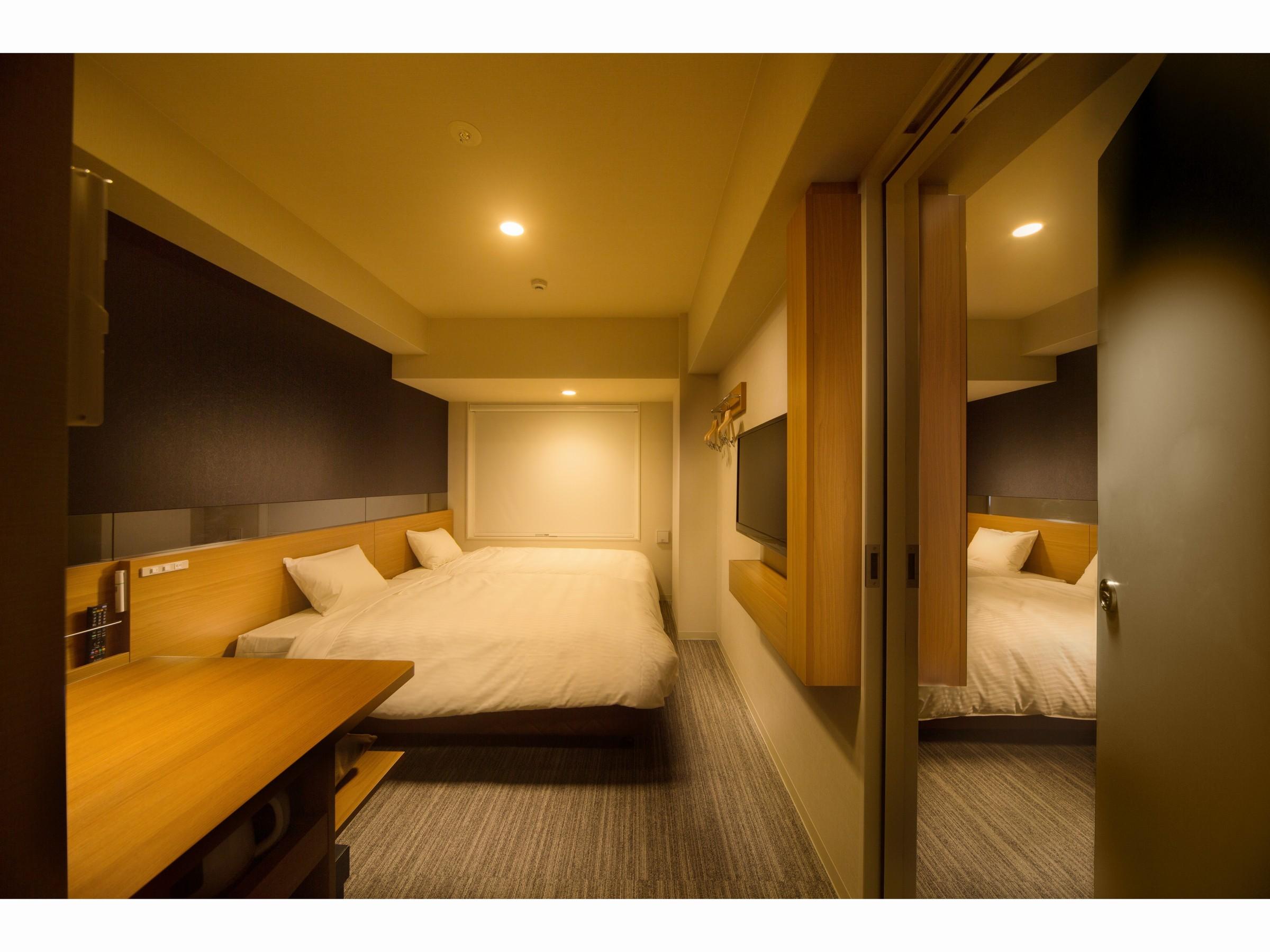 ホテルグラッドワン京都七条 / コネクティングルーム【禁煙】