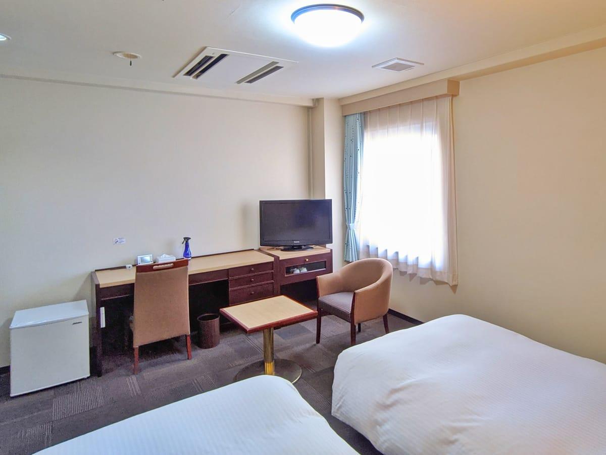 門真パブリックホテル 【喫煙】ツインルーム[喫煙可]
