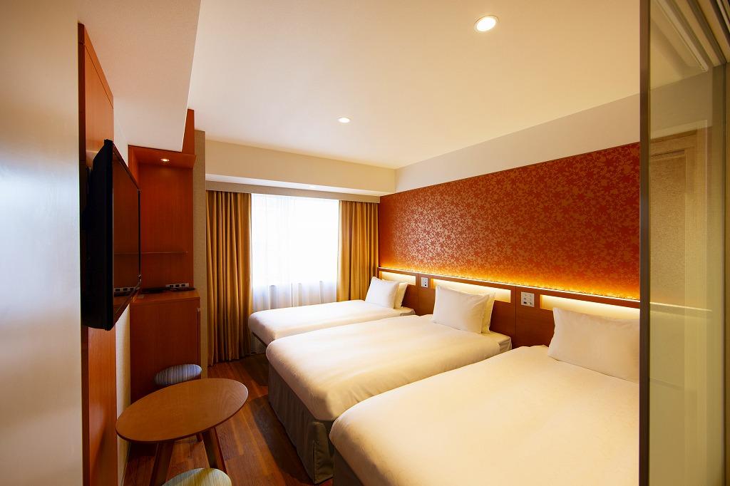 からくさホテルグランデ新大阪タワー / スタンダードツイン with Extra bed